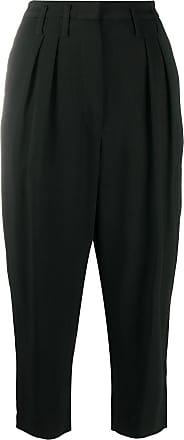 Iro high rise cropped trousers - Black