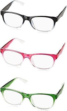 755268ff9c8e Steve Madden Unisex-Adult Sm63336c SM63336C Rectangular Reading Glasses,  Pink/GRN/BLK