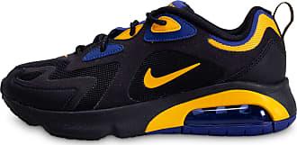 air max 200 noir bleu or