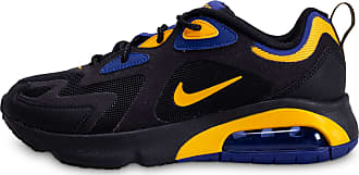 air max 200 noire bleue or