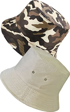 TOSKATOK UPF 50+ Unisex Fully Reversible Cotton Rich Camouflage Bush/Bucket Hat