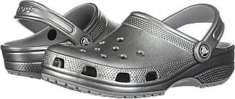Crocs Classic Metallic Clog (Gunmetal) Shoes