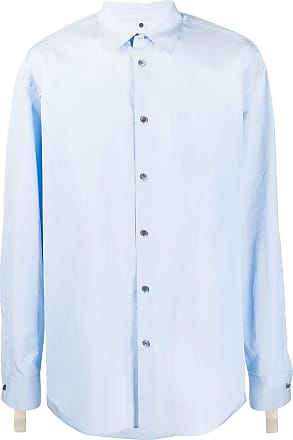 OAMC long sleeve straight fit shirt - Blue
