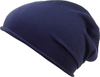 2Store24 Unisex Beanies for Spring/Summer Heather Jersey Beanies in Navy in organic cotton