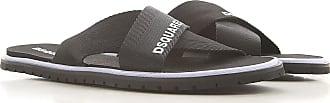 Dsquared2 Sandals for Men On Sale, Black, Nylon, 2019, 10.5 5.5 6.5 7 8 9 9.5
