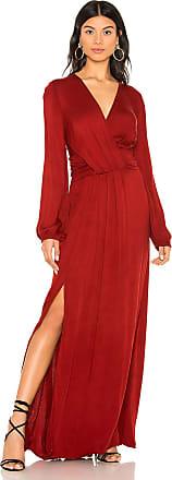 Young Fabulous & Broke Chontel Maxi Dress in Rust
