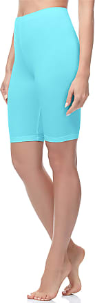 Merry Style Womens Short Leggings MS10-200 (Turquoise, XXL)