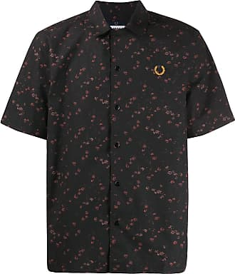 Fred Perry floral shirt - Preto