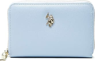 U.S.Polo Association U.S. POLO ASSN. Jones M Zip Around Wallet Light Blue