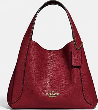 Coach Hadley Hobo 21 in Red