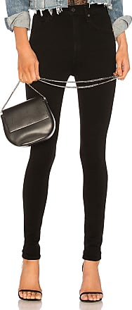 Citizens Of Humanity Chrissy Skinny in Black