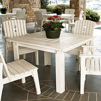 UWharrie Chair Outdoor Uwharrie Behrens 48 in. Square Patio Dining Table - B092-000-NAT