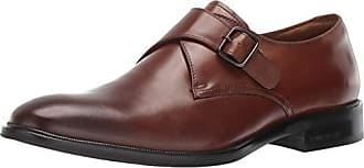 Kenneth Cole Mens Tully Monk-Strap Loafer, Tobacco, 9.5 M US