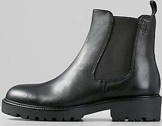 Vagabond Kenova Black Leather Chelsea Boots - 36