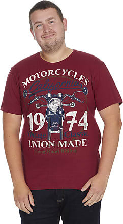 Generic Mens Plus Size T-Shirt 100% Jersey Cotton Marl USA Biker Soft Summer Big & Tall Indigo Denim Blue Grey