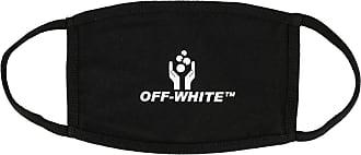 Off-white Máscara para dormir com estampa de logo - Preto