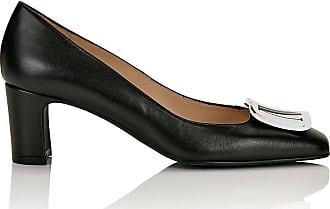 Madeleine Leder-Pumps mit Blockabsatz in schwarz MADELEINE Gr 36 für Damen. Synthetik