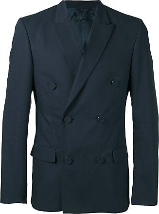 Calvin Klein Blazer abotoamento duplo - Azul 24932a3c0d