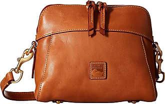 Dooney & Bourke Florentine Classic Cameron Crossbody (Natural/Self Trim) Cross Body Handbags
