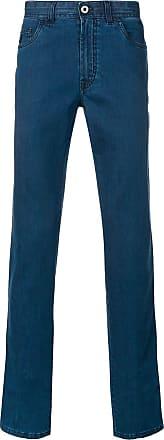 Brioni Calça jeans reta - Azul