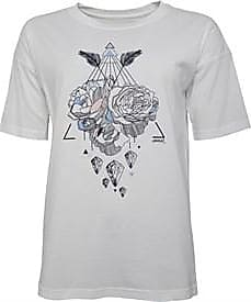 Animal short sleeve jersey t-shirt with floral printed graphic