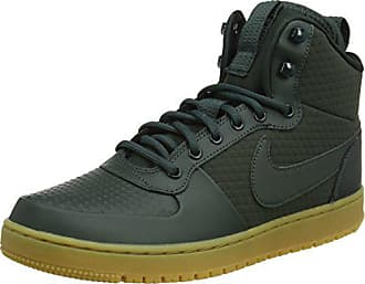 156ca3455c1a46 Nike Court Borough Mid Winter, Chaussures de Fitness Homme, Multicolore  Outdoor Green/Black