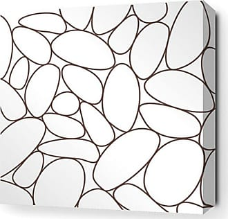 Inhabit River Rock Canvas Wall Art - RVR_1616C