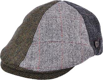 GFM Hats Wool Blended High Quality Flat Cap hat (Multi Patch (XS503), 60 cm)