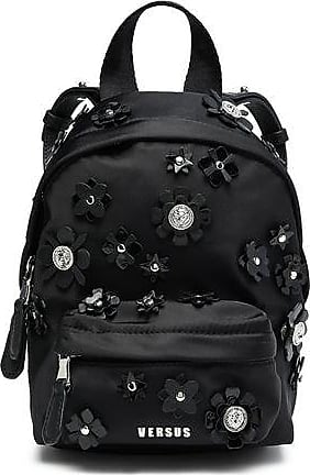 94c6664bea73 Versus Versus Versace Woman Floral-appliquéd Shell Backpack Black Size