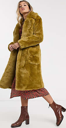 QED London Mantel aus Lammfell Gelb Jetzt bestellen