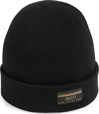 Gucci Wool hat with Gucci label