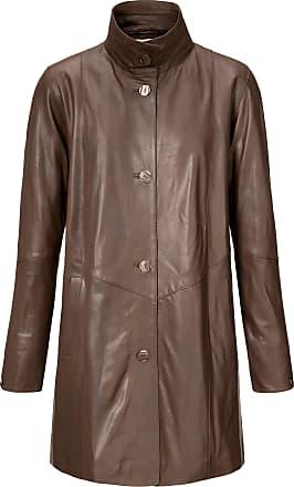 Peter Hahn Leather swing coat Peter Hahn brown