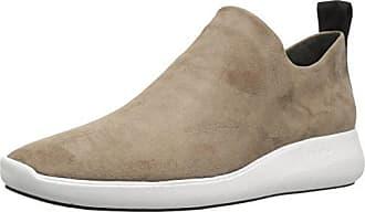 Via Spiga Womens Marlow Slip ON Sneaker, Dark Taupe Suede, 5.5 M US