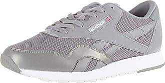 Homme Nylon 39 Tech White Gris Steel Grey Classic Reebok Sneakers Basses EU Mix 5qY6wS
