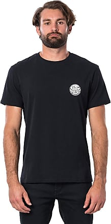 Rip Curl Original WETTY SS Men,T-Shirt,Short Sleeve Tee,Short Sleeves,Round Neckline,Logo,Black,2XL