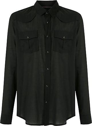 Osklen flap pockets shirt - Black