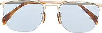 David Beckham Óculos de sol DB 1001/S geométrico - Dourado