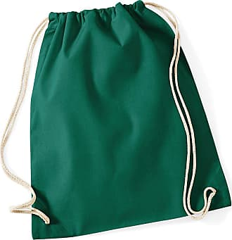 Westford Mill W/Mill Cotton Gymsac Colour=Bottle Green Size=O/S