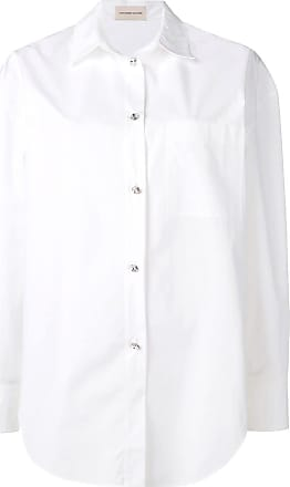 Alexandre Vauthier Camisa com bolso no busto - Branco