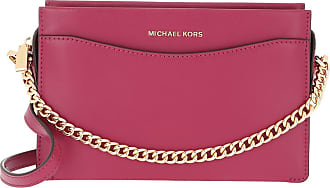 Michael Kors Jet Set LG Conv Chain Xbody Berry Umhängetasche rot