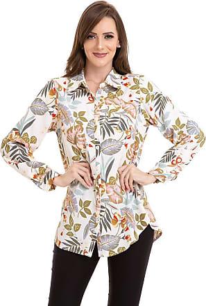 Kinara Camisa Crepe Floral-P