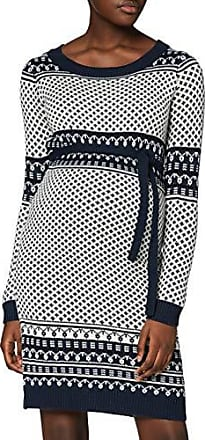MAMALICIOUS Damen Mlester L//S Sweat Abk Dress A Kleid