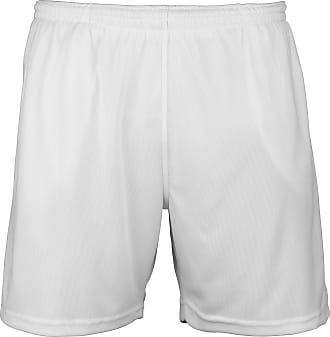 Just Cool Mens Sports Shorts (M) (Arctic White)