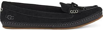 UGG Womens Mariam Loafer in Black, Size 6, Suede