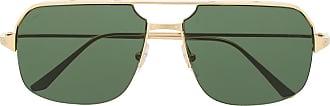 Cartier Óculos de sol Navigator - Dourado