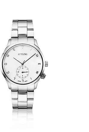 Efva Attling 20 Years Jubilee Watch - Steel Watches