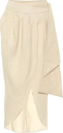 Johanna Ortiz Map Reader linen wrap skirt