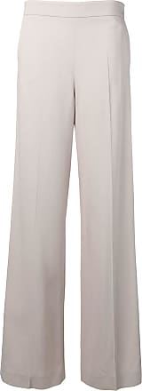 Blumarine Calça de alfaiataria cintura alta - Neutro