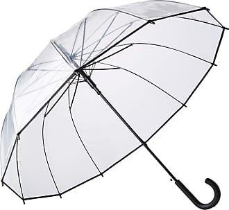 Paris SMATI Stick Clear Umbrella Dome Transparent Automatic