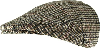 Hawkins Country Collection Wool Flat Cap in Brown, Size: Large (58cm)